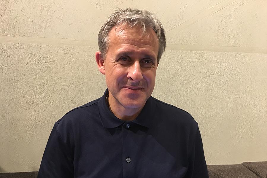 西ドイツ代表として90年イタリアW杯優勝に貢献したピエール・リトバルスキー氏【写真:編集部】
