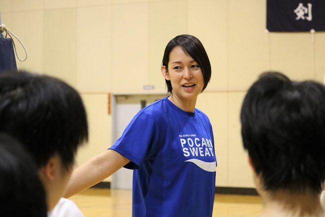 大山加奈さんが描く「バレーボールの未来」とは【写真:編集部】