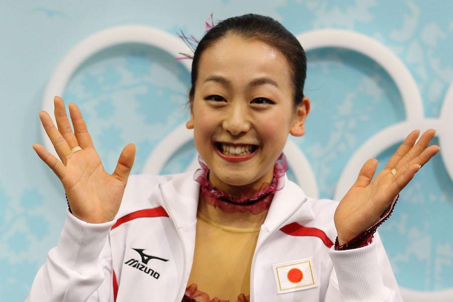 バンクーバー五輪で銀メダルを獲得した浅田真央さん【写真:Getty Images】