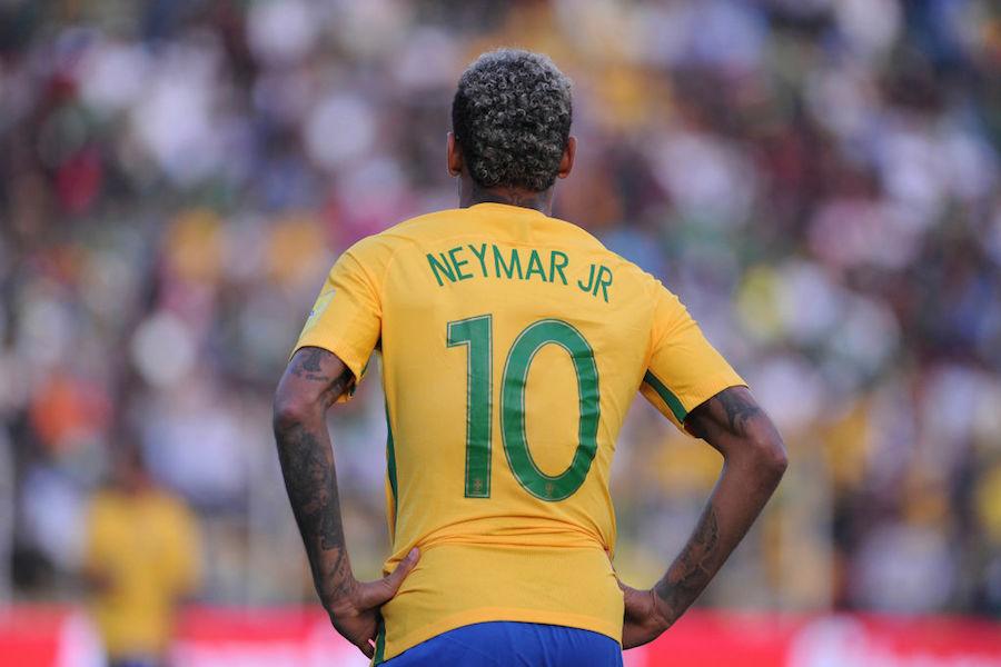 パリ・サンジェルマンのブラジル代表FWネイマール【写真:Getty Images】