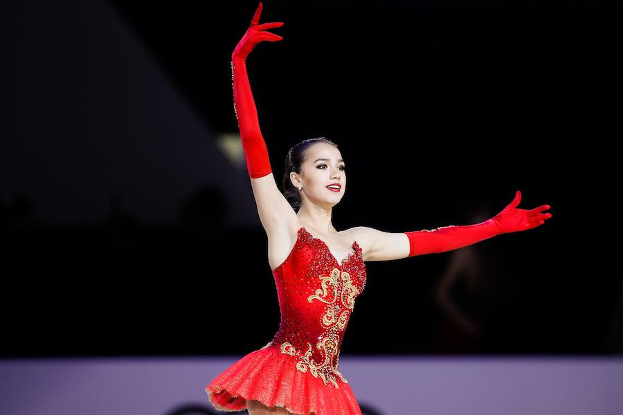 フィギュアスケート界で大注目を浴びているアリーナ・ザギトワ【写真:Getty Images】
