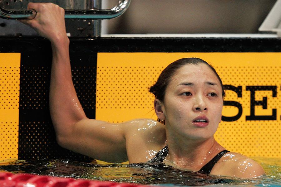 競泳界のヒロインとして活躍した伊藤華英さん【写真:Getty Images】