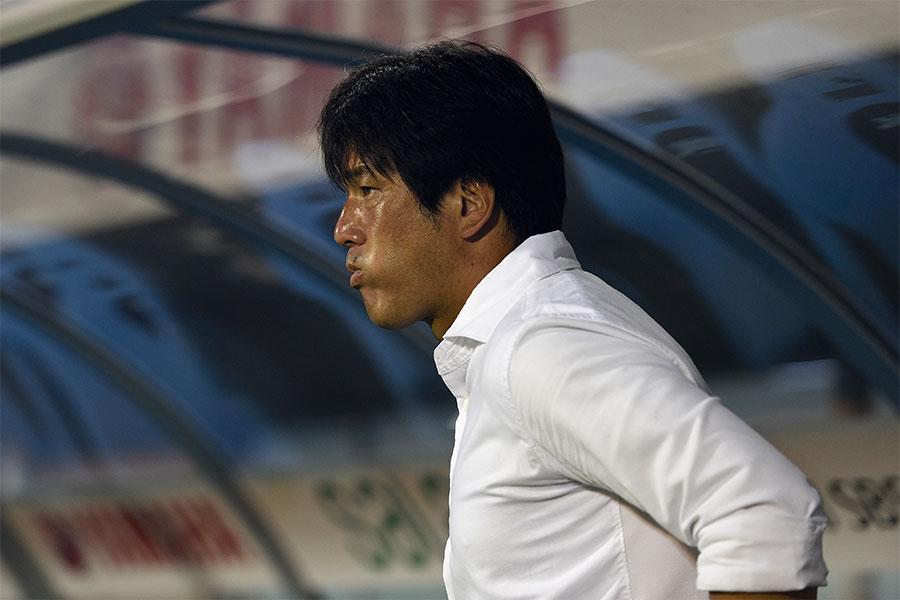 現在はジュビロ磐田の監督を務める名波浩【写真:Getty Images】