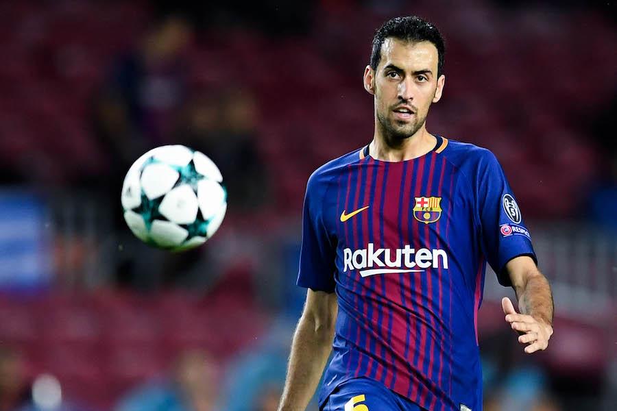 バルセロナのスペイン代表MFセルヒオ・ブスケッツ【写真:Getty Images】