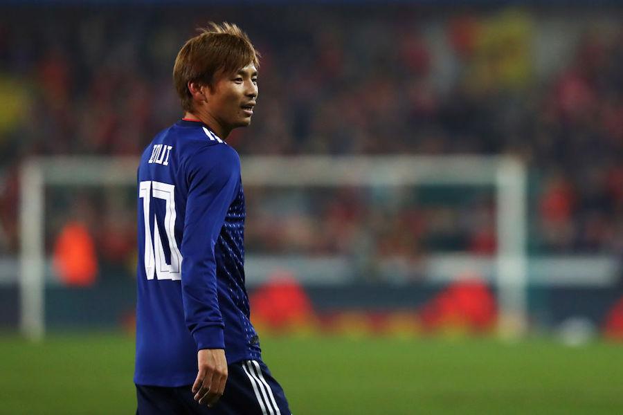 エイバルの日本代表MF乾貴士【写真:Getty Images】