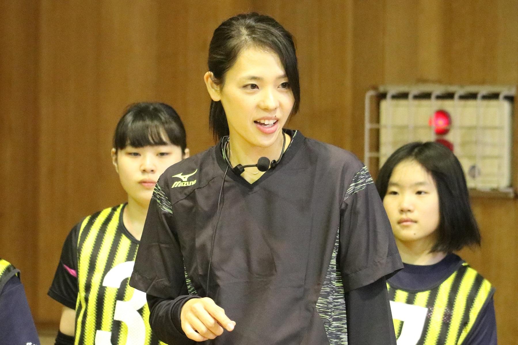 女子バレーボール元日本代表の迫田さおり【写真:Getty Images】