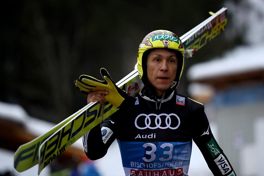 スキージャンプ男子の45歳、葛西紀明【Getty Images】