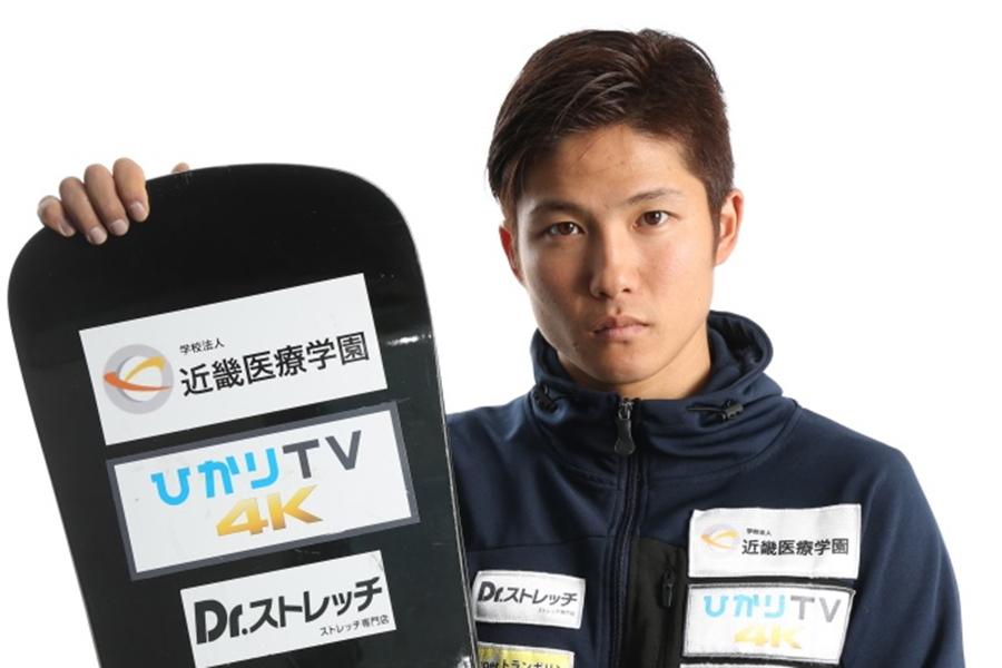 平昌パラリンピックの日本代表メンバーに選出された成田緑夢【(C)たかはしじゅんいち】