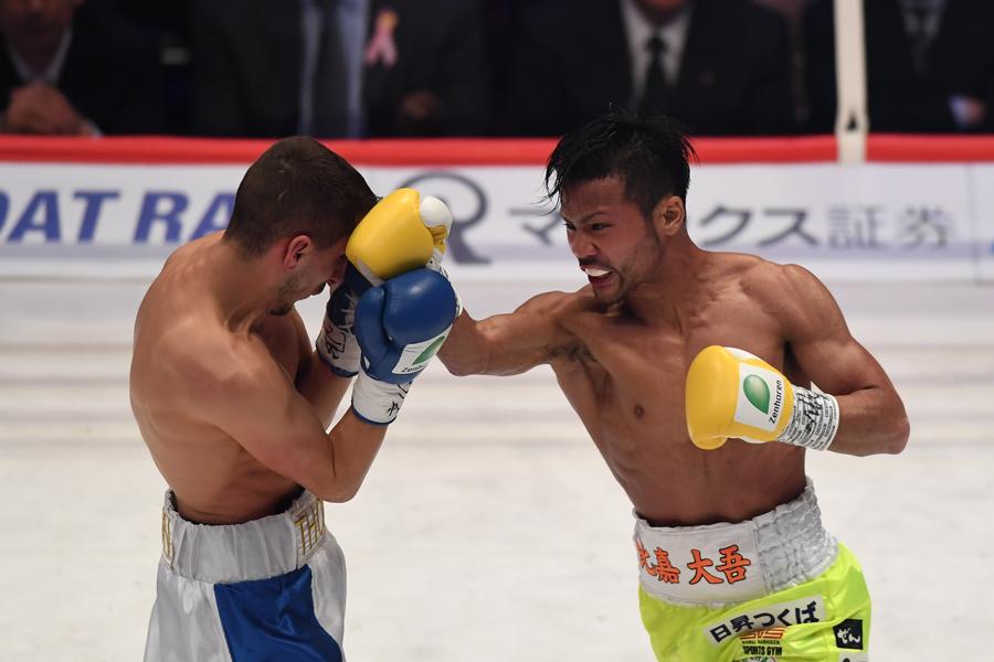 WBC世界フライ級王者の比嘉大吾【写真:Getty Images】