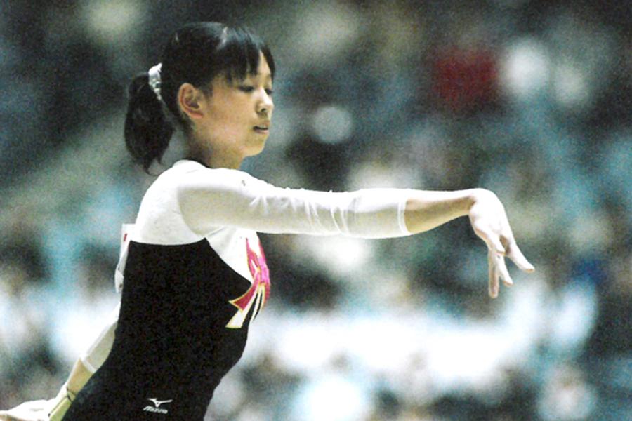 体操の元日本代表・岡部紗季子さん【写真提供=ベンヌ】