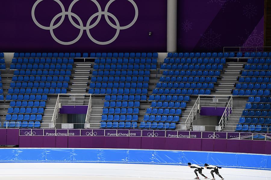 南北合同チーム「コリア」は平昌五輪で注目が寄せられている【写真:Getty Images】