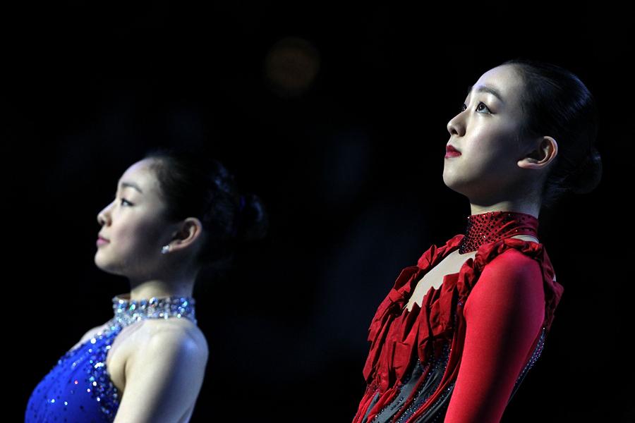 バンクーバー大会で銀メダルの浅田真央【写真:Getty Images】