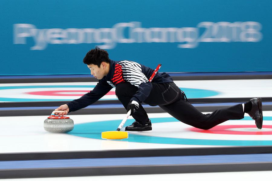 カーリング混合ダブルスでは韓国がフィンランドに圧勝【写真:Getty Images】