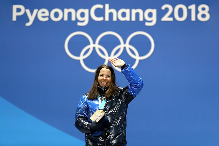 金メダル第1号となったクロスカントリー女子スキーアスロンのハロッテ・カッラ【写真:Getty Images】