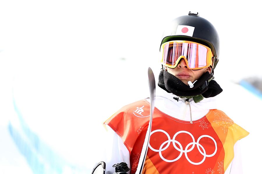 スノーボード男子ハーフパイプ決勝に登場する平野歩夢【写真:Getty Images】