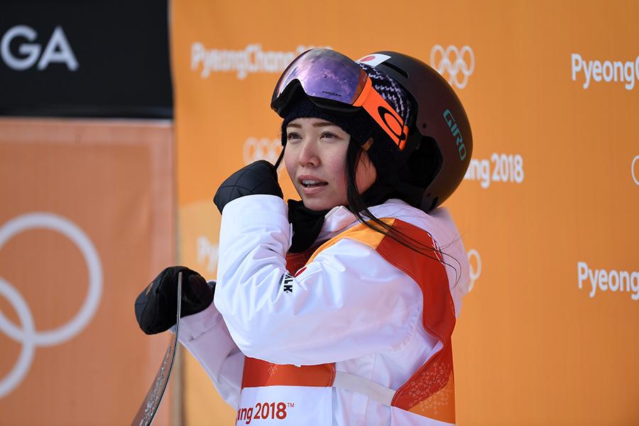 女子ハーフパイプ決勝では予選3位で通過した松本遥奈【写真:Getty Images】