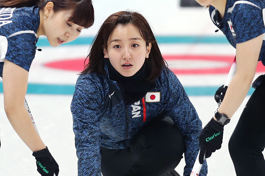 カーリング女子日本代表の藤澤五月【写真:Getty Images】