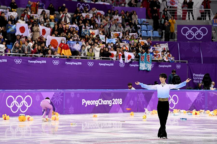 羽生結弦【写真:Getty Images】