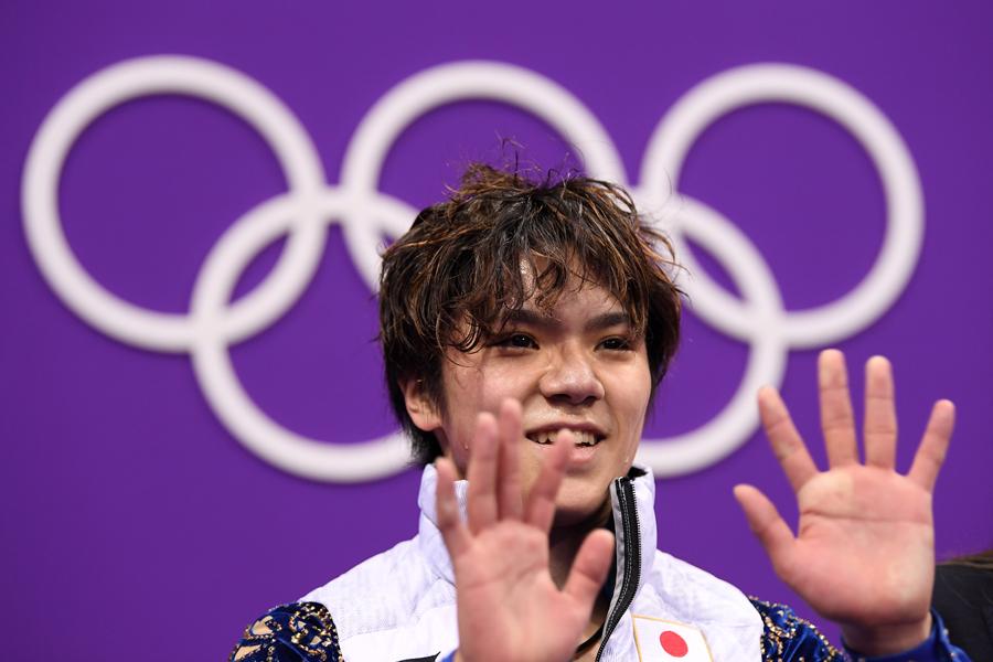 銀メダルを獲得した宇野昌磨【写真:Getty Images】