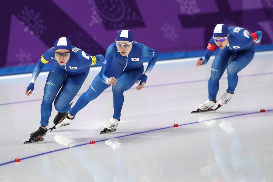パシュートの韓国代表で起きた問題が話題に【写真:Getty Images】
