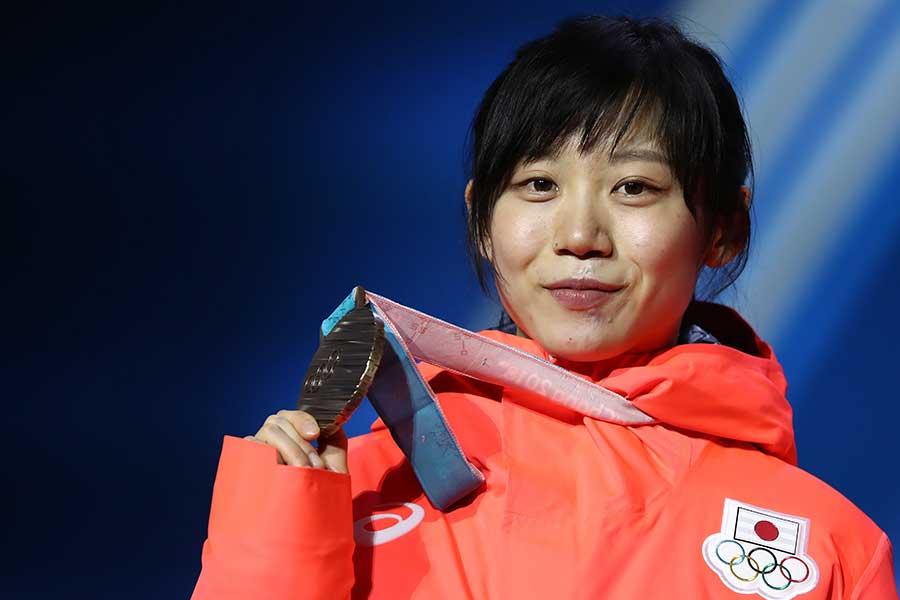 高木美帆は今大会で3個のメダルを獲得【写真:Getty Images】