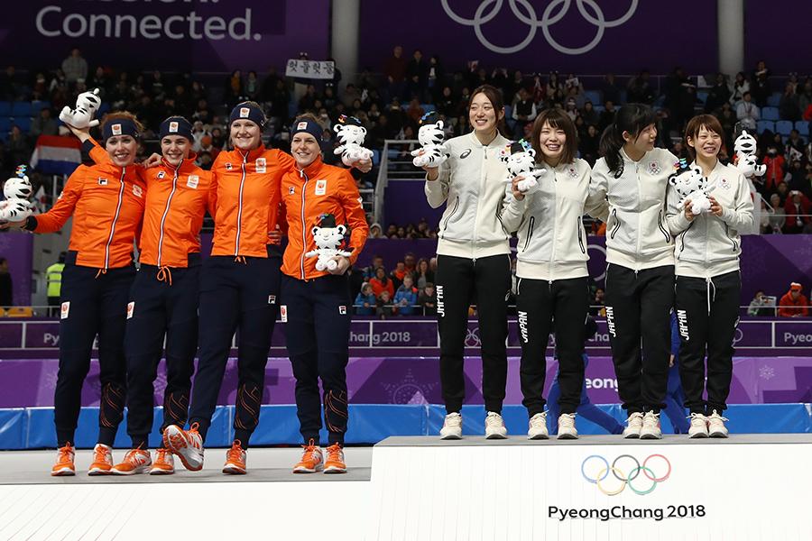 王国オランダを抑え日本が金メダルを獲得【写真:Getty Images】