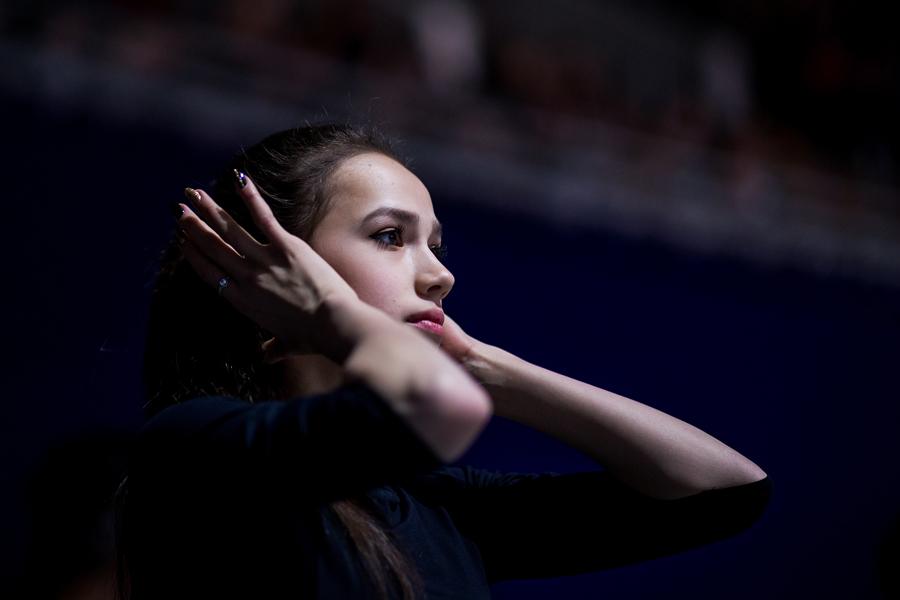 アリーナ・ザギトワ【写真:Getty Images】