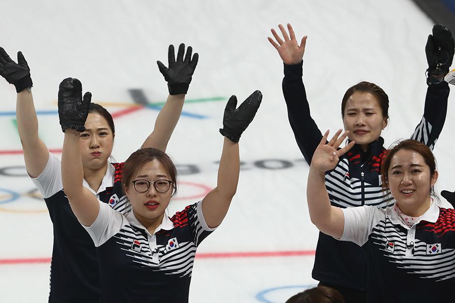 カーリング女子準決勝は韓国が延長戦の末に日本に勝利【写真:Getty Images】