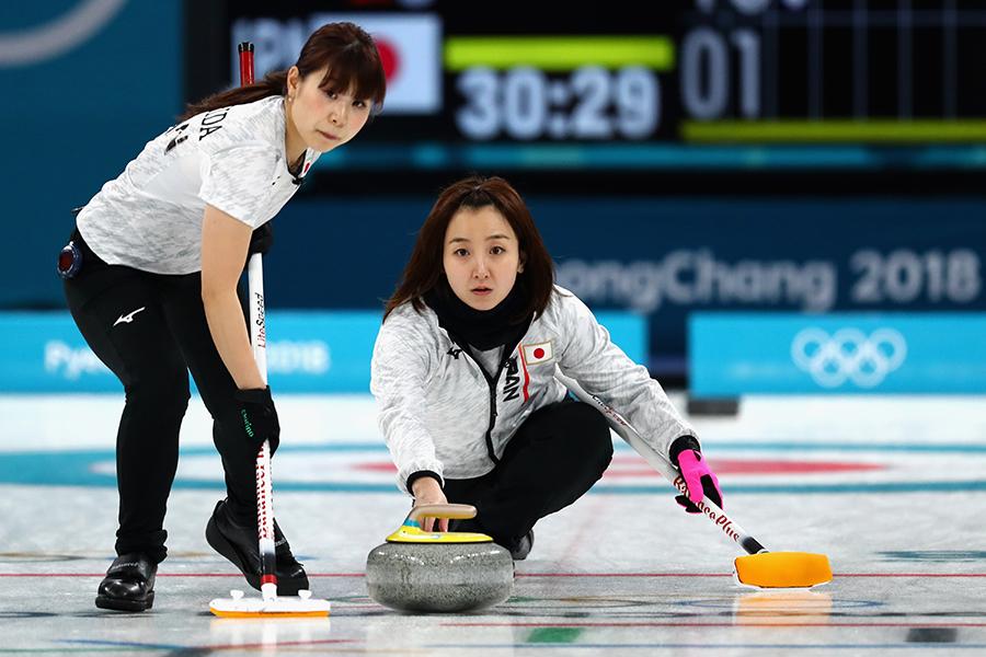 カーリング女子代表は銅メダルを獲得【写真:Getty Images】