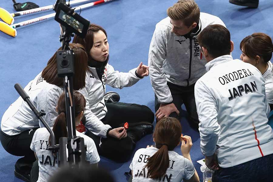 五輪では休憩時間も注目の的に【写真:Getty Images】