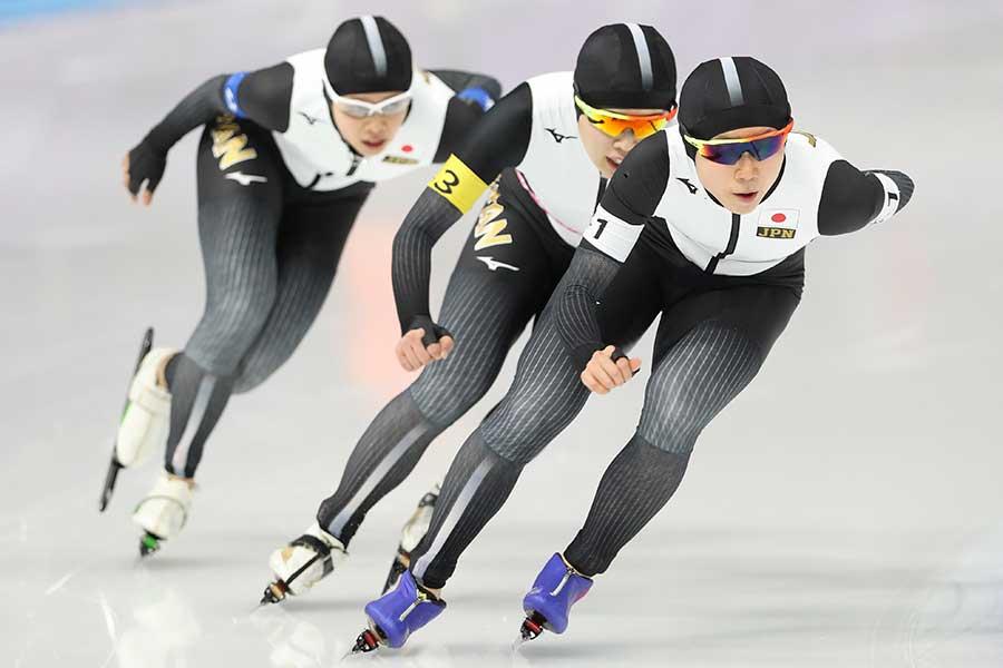 女子パシュートチームは平昌五輪では金メダルを獲得【写真:Getty Images】