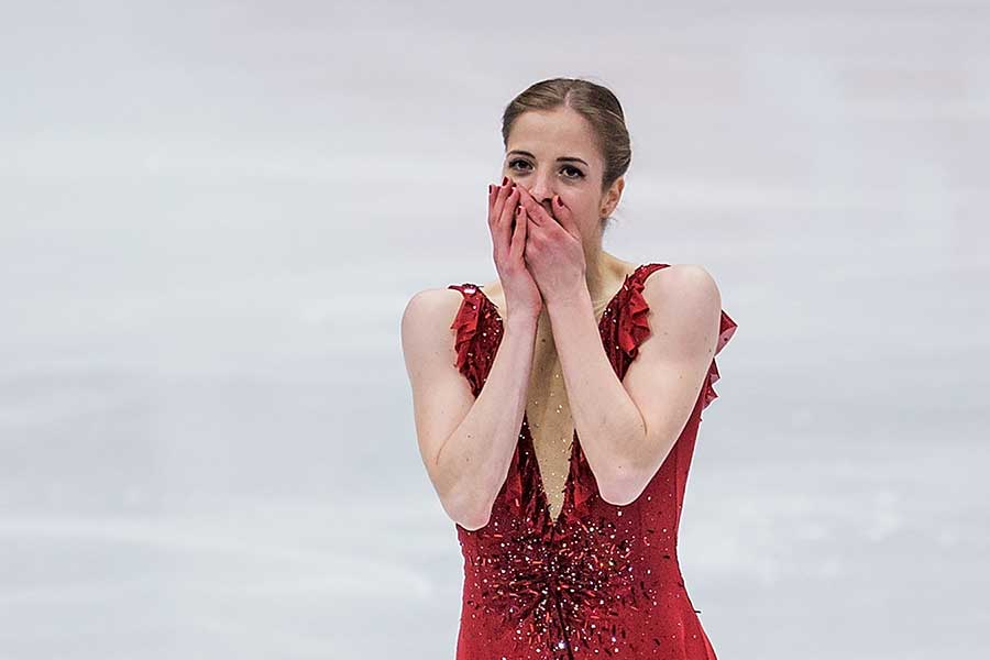 カロリーナ・コストナー【写真:Getty Images】