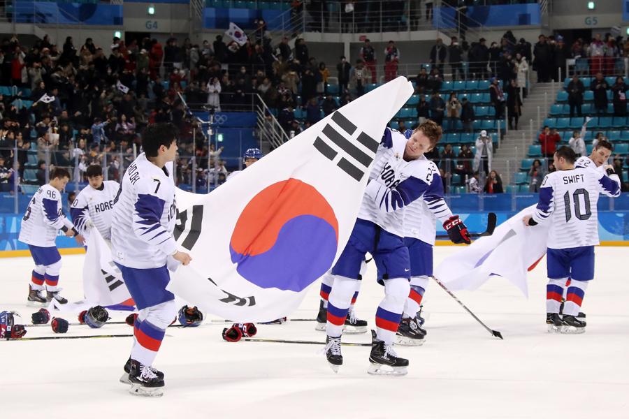 帰化選手が最も多く在籍するアイスホッケー韓国代表【写真:Getty Images】