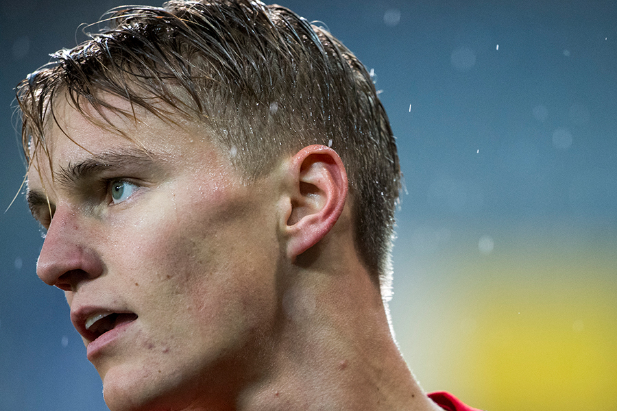 ノルウェー代表のMFマルティン・ウーデゴール【写真:Getty Images】