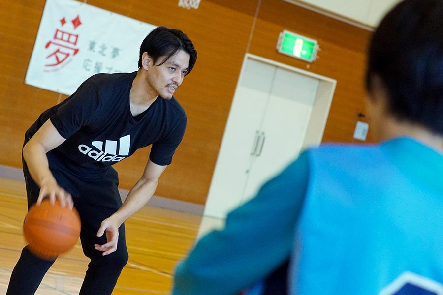 元バスケットボール日本代表の渡邉拓馬氏【写真:村上正広】