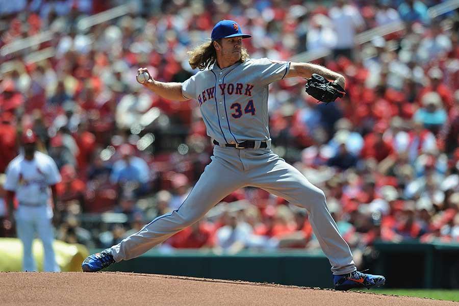 ニューヨーク・メッツのシンダーガード投手【写真:Getty Images】