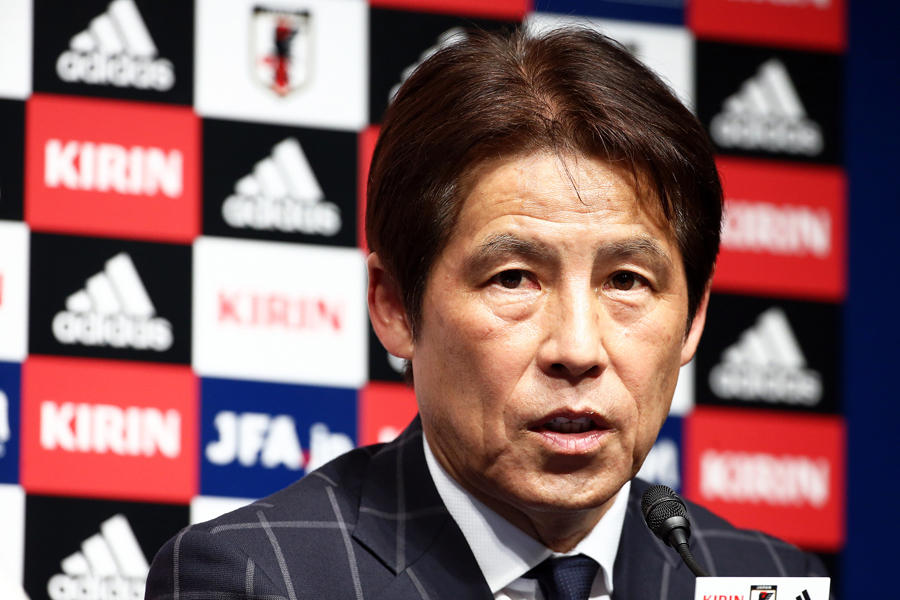 日本代表の西野朗新監督【写真:Getty Images】