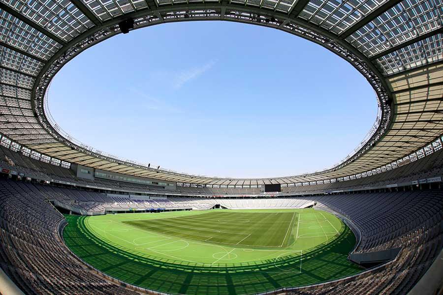東京スタジアム【写真:Tokyo 2020提供】