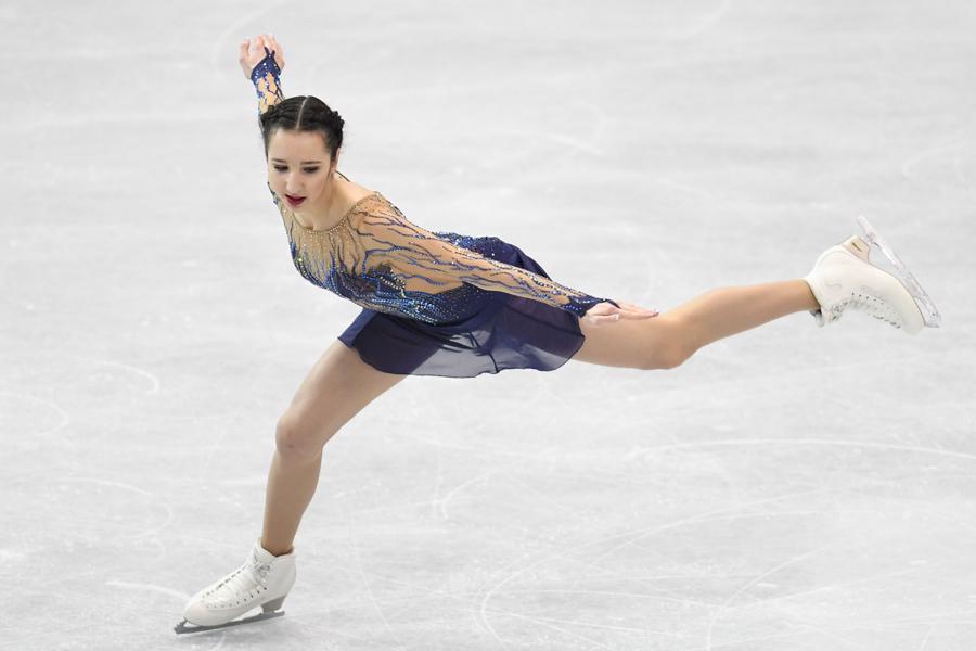 ポリーナ・ツルスカヤ【写真:Getty Images】