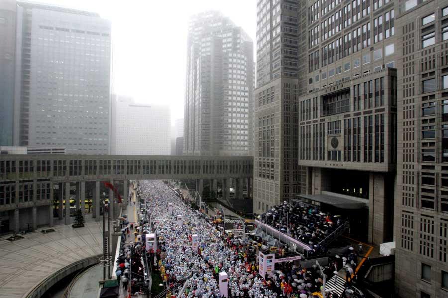 2020年東京五輪の男女マラソンコースが決定した【写真:Getty Images】