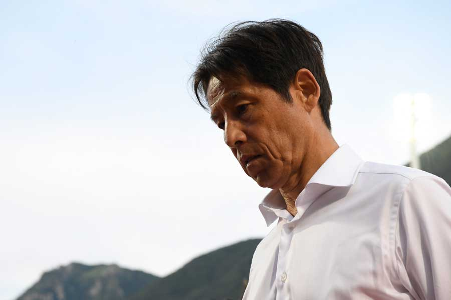 サッカー日本代表の西野朗監督【写真:Getty Images】