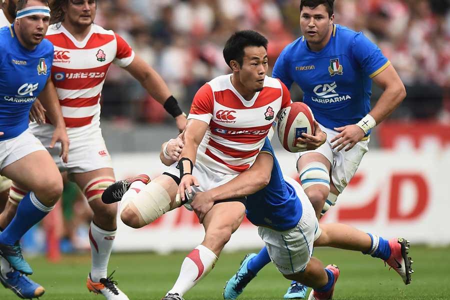 ラグビー日本代表の福岡堅樹【写真:Getty Images】