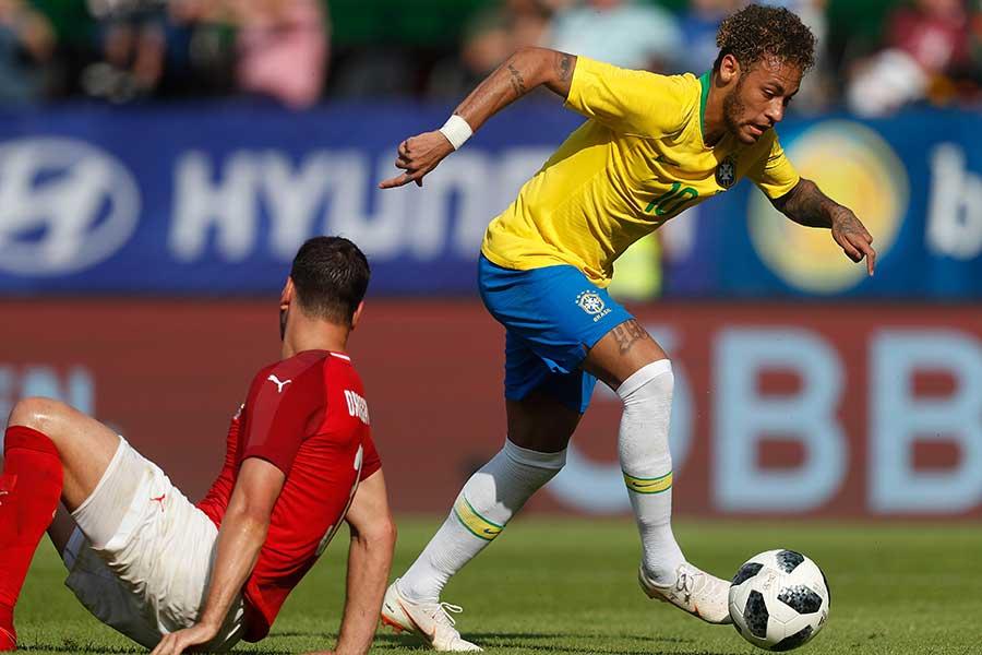 ブラジル代表のネイマール【写真:Getty Images】