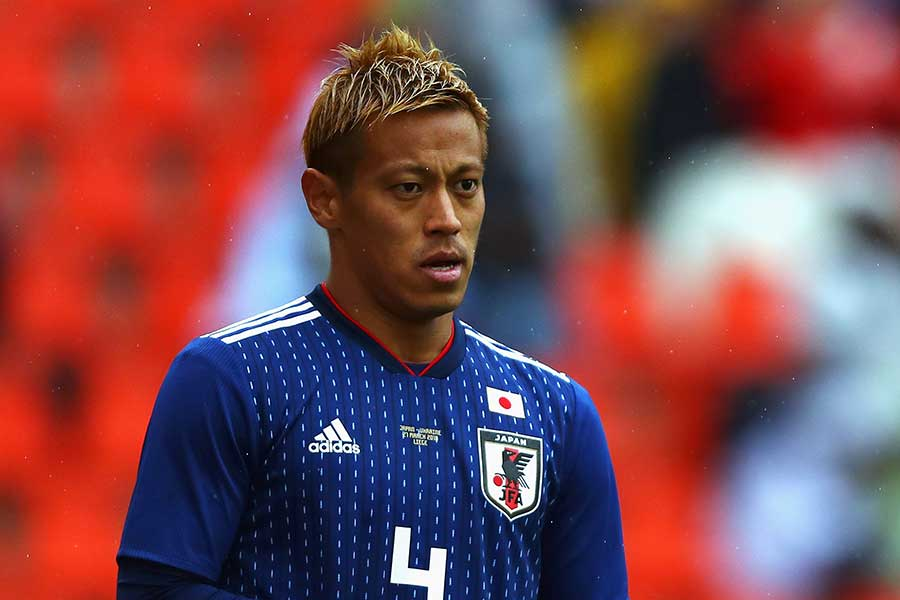 米メディアが日本代表のキーマンに指名した本田圭佑【写真:Getty Images】