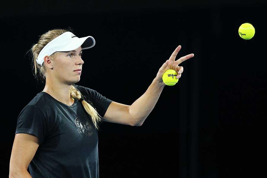 テニス界でも話題の美女キャロライン・ウォズニアッキ【写真:Getty Images】