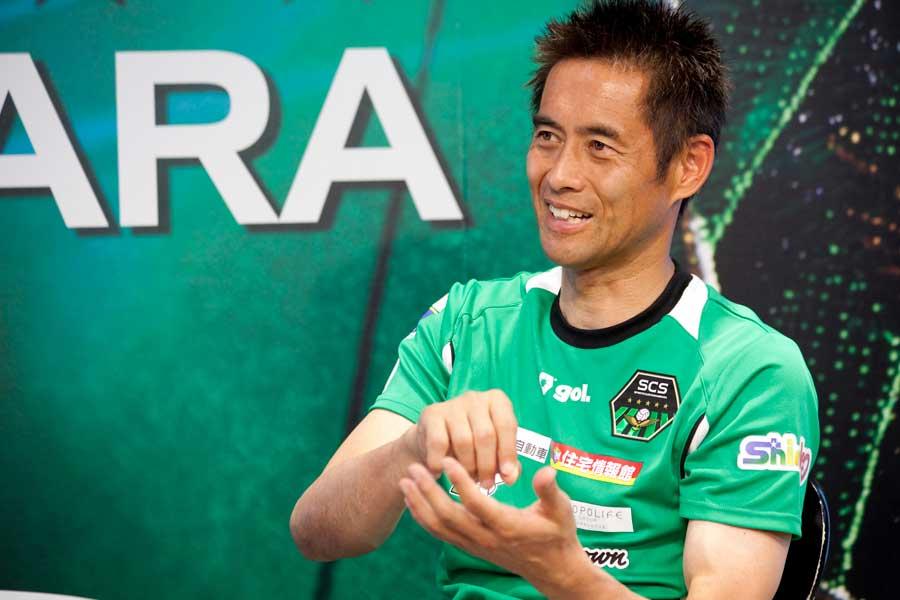 サッカー元日本代表の川口能活【写真:mika】
