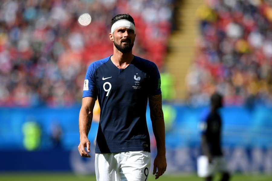 サッカーフランス代表のオリビエ・ジルー【写真:Getty Images】