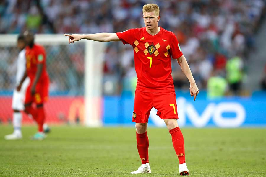 ベルギー代表MFケビン・デブライネ【写真:Getty Images】