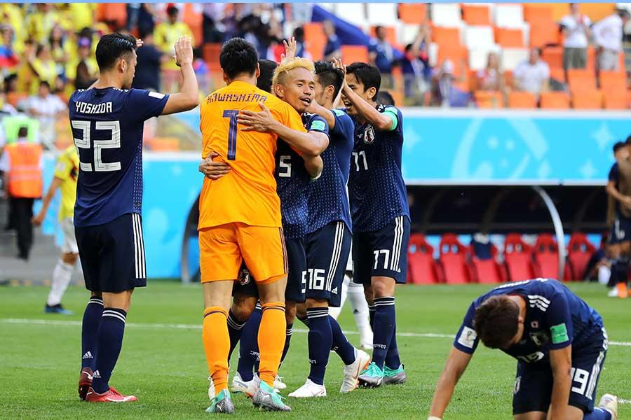 日本代表はワールドカップ初戦で見事な勝利【写真:Getty Images】