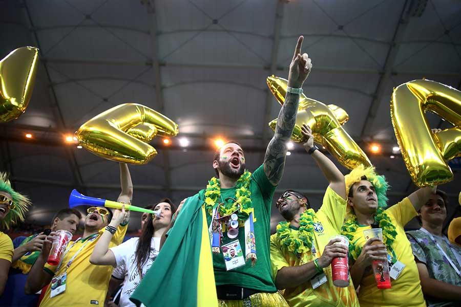 ブラジルは22日にコスタリカ戦が控える【写真:Getty Images】